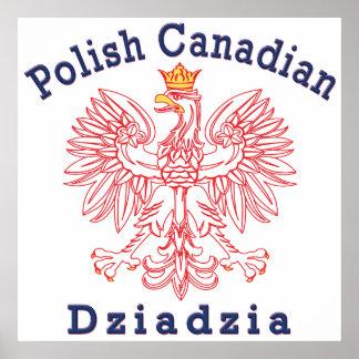 Polish Canadian Eagle Dziadzia Print
