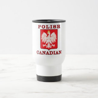 Polish Canadian Eagle Shield Coffee Mug