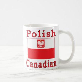 Polish Canadian Falcon Flag Coffee Mug