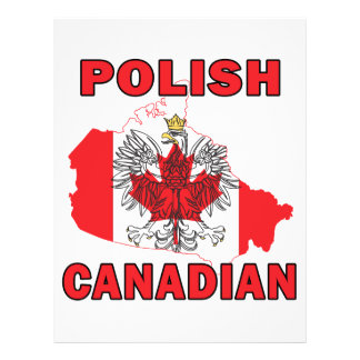 Polish Canadian Flag Canada Map Flyers