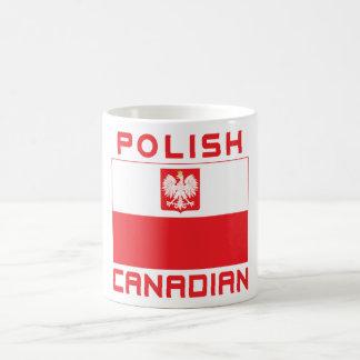Polish Canadian Poland Falcon Flag Coffee Mug