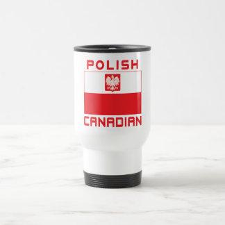 Polish Canadian Poland Falcon Flag Travel Mug