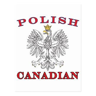 Polish Canadian White Eagle Postcard
