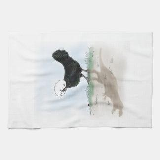 Polish Chicken Dino Towels