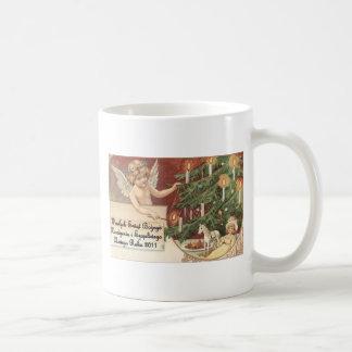POLISH CHISTMAS ITEMS WESOLYCH SWIAT COFFEE MUG