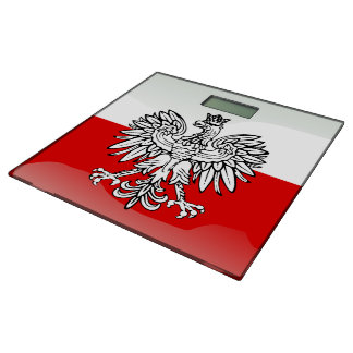 Polish Coat of arms Bathroom Scale