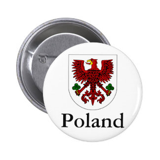 Polish Coat Of Arms Pinback Button