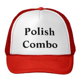 Polish Combo trucker hat