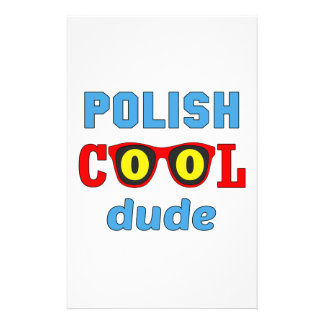 Polish Cool Dude Stationery