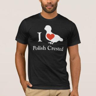 Polish Crested Chicken T-Shirt