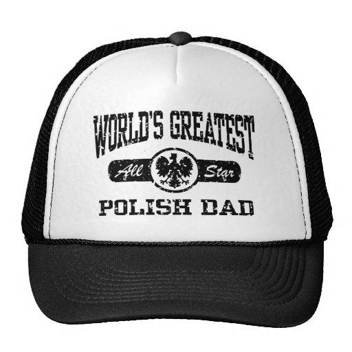 Polish Dad Mesh Hat