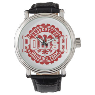 Polish Drinking Team Wristwatch