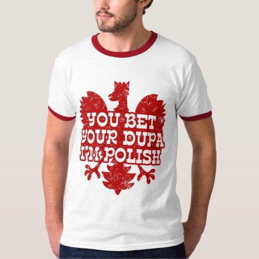Polish dupa t shirt zazzle for Polish t shirts online