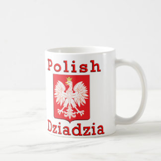 Polish Dziadzia Eagle Coffee Mug