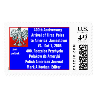 Polish Eagle 400th Anniversary of First Poles Postage