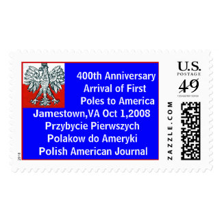 Polish Eagle 400th Anniversary of First Poles Stamp