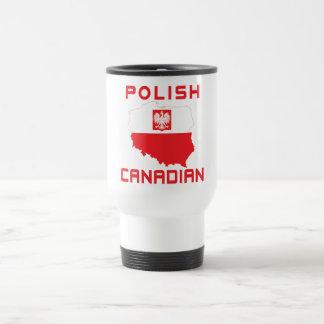 Polish Eagle Canadian Map Mugs