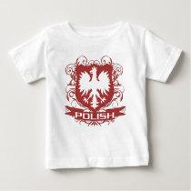 Polish Eagle Crest Baby T-Shirt