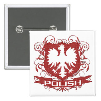 Polish Eagle Crest button