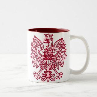 Polish Eagle Crest Coffee Mug