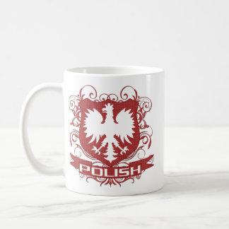 Polish Eagle Crest Classic White Coffee Mug