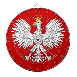 Polish Eagle Dartboard With Darts