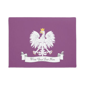 Polish eagle doormat