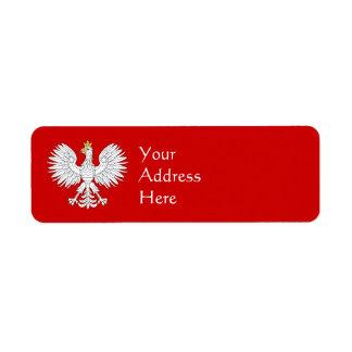Polish Eagle Label