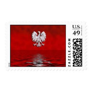 Polish Eagle Levitate Postage