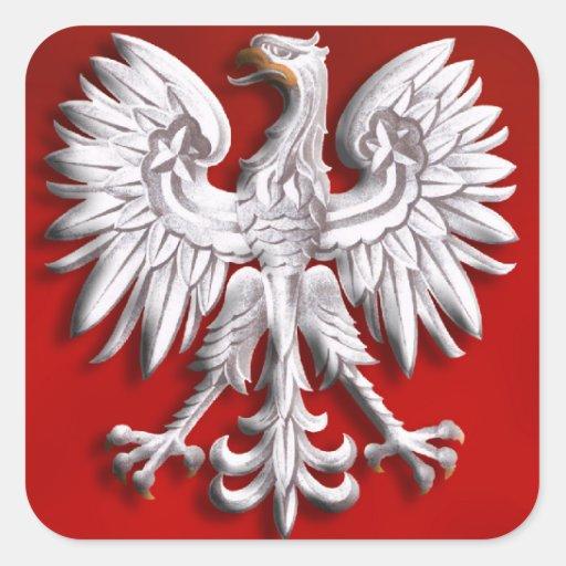 Polish Eagle Levitate Stickers