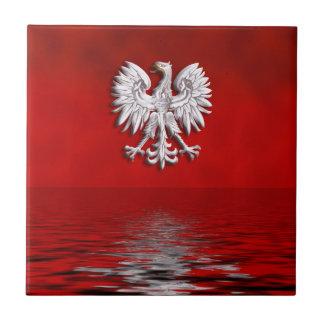 Polish Eagle Levitate Tile Coaster