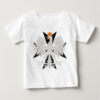 Polish Eagle Maltese Cross Baby T-Shirt