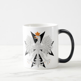 Polish Eagle Maltese Cross Magic Mug