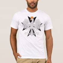 Polish Eagle Maltese Cross T-Shirt