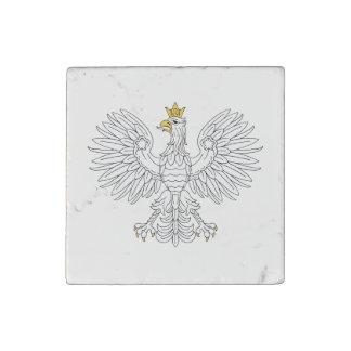 Polish Eagle Marble Magnet Stone Magnet