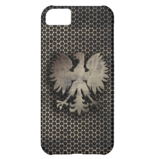 Polish Eagle Metal Style Case For iPhone 5C