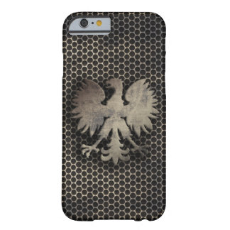 Polish Eagle Metal Style Look Barely There iPhone 6 Case