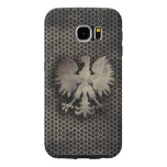 Polish Eagle Metal Style Look Samsung Galaxy S6 Cases