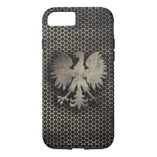 Polish Eagle Metal Style Look iPhone 8/7 Case