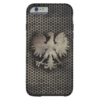 Polish Eagle Metal Style Look Tough iPhone 6 Case