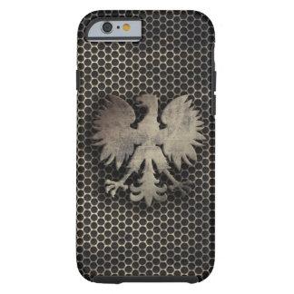 Polish Eagle Metal Style Look Tough iPhone 6 Case