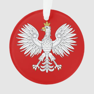 Polish Eagle Ornament