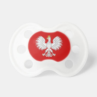 Polish Eagle Pacifier BooginHead Pacifier