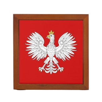 Polish Eagle Pencil Holder