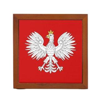 Polish Eagle Pencil Holder