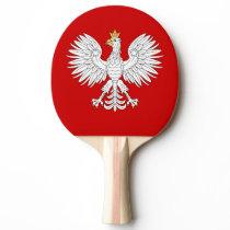 Polish Eagle Ping-Pong Paddle