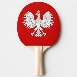 Polish Eagle Ping-Pong Paddle