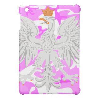 Polish Eagle Pink Camouflage iPad Mini Case