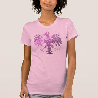 Polish Eagle Pink t shirt