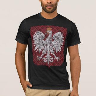 Polish Eagle Plaid Crest T-Shirt
